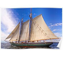 Sailing With The Lettie Poster
