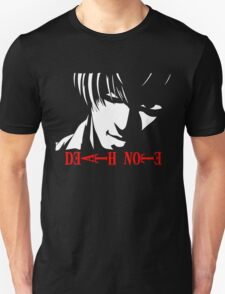 Light Yagami Death Note, Anime T-Shirt