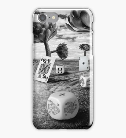 Dreaming can be a gamble iPhone Case/Skin
