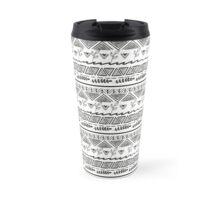 tribal patern Travel Mug