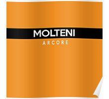 Molteni Arcore Retro Cycling Kit Poster