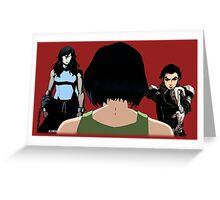 Avatar Korra's Demons (Any Color!) Greeting Card