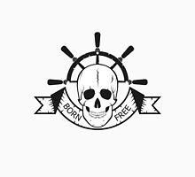 "The skull of a ""sea devil""  pirate logo  Unisex T-Shirt"