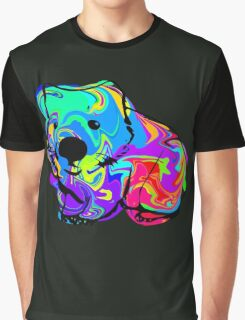 Colorful Wombat Graphic T-Shirt