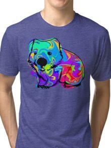 Colorful Wombat Tri-blend T-Shirt