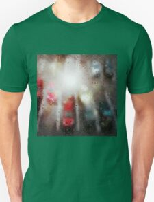 Raindrops on the window  Unisex T-Shirt