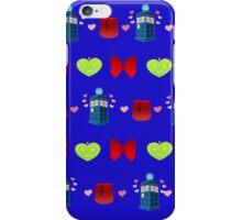 Whovian pattern iPhone Case/Skin