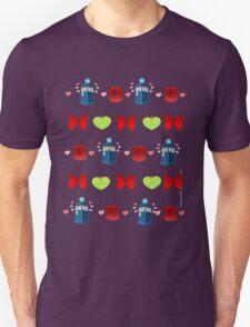 Whovian pattern Unisex T-Shirt