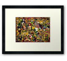 Fantasy about Gustav Klimt Framed Print