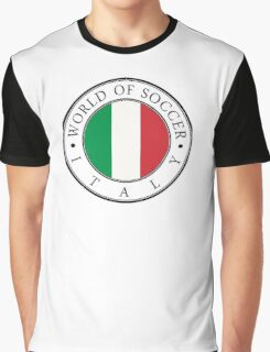 Italy soccer world Graphic T-Shirt