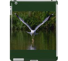 Seagull walks on water iPad Case/Skin