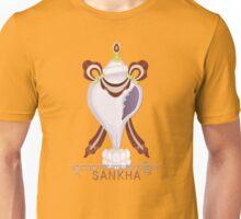 Sankha (White Conch) - Buddhist & Hindu Ashtamangala Unisex T-Shirt
