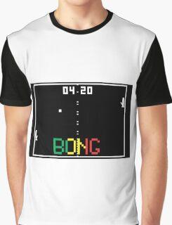 "ATARI Pong ""BONG"" game Graphic T-Shirt"