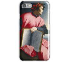 Florentine Allegorical Portrait of Dante, iPhone Case/Skin