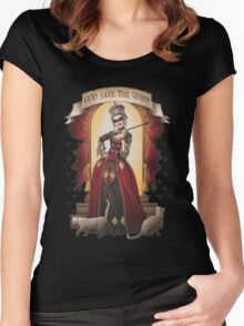 Goode Save Harley Quinn Women's Fitted Scoop T-Shirt