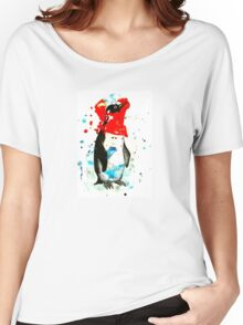 Penguin Dreaming Women's Relaxed Fit T-Shirt