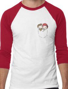 Pocket Pilots Men's Baseball ¾ T-Shirt