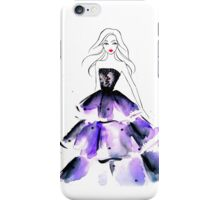 Purple Gown iPhone Case/Skin