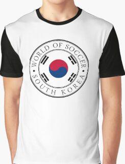 South Korea soccer world Graphic T-Shirt