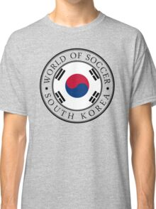 South Korea soccer world Classic T-Shirt