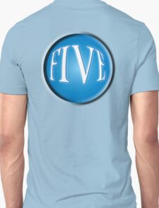 FIVE BALL, FIFTH, NUMBER 5, 5, TEAM SPORTS, Competition, BLACK T-Shirt
