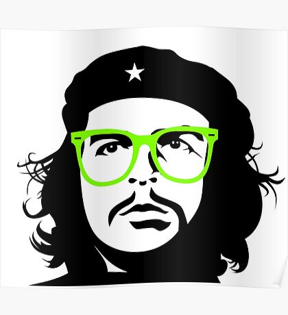 Che Revolution Punk Hipster Poster