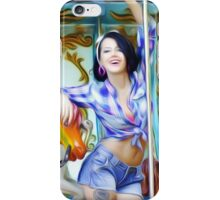 'Modern Belle' - Pinup Beauty at the Carnival iPhone Case/Skin
