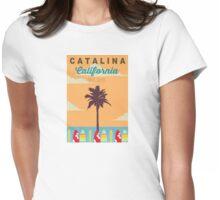 Catalina Island - California. Womens Fitted T-Shirt