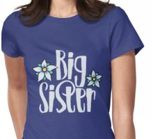 Big sister Womens Fitted T-Shirt