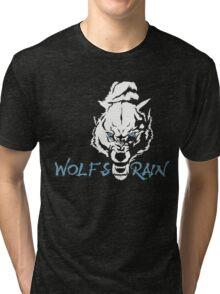 Wolf's Rain Japanese Anime Tri-blend T-Shirt