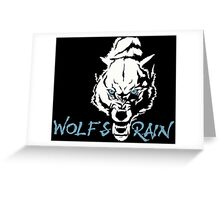 Wolf's Rain Japanese Anime Greeting Card
