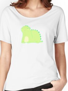 Happy Green Dinosaur Women's Relaxed Fit T-Shirt