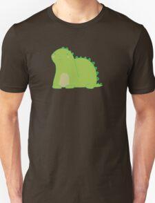 Happy Green Dinosaur Unisex T-Shirt