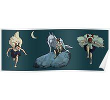 Princess Mononoke montage Poster
