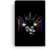 Armored Savagery Canvas Print
