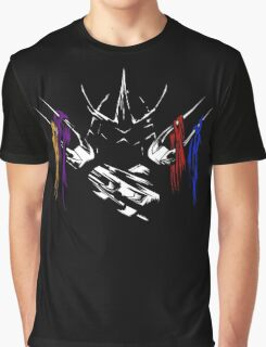 Armored Savagery Graphic T-Shirt