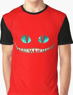 alice in wonderland Cheshire Cat Graphic T-Shirt