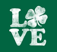 Love shamrock for st. patrick's day  Womens Fitted T-Shirt
