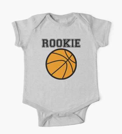 Basketball Rookie One Piece - Short Sleeve