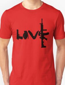 Love weapons - version 1 - black T-Shirt