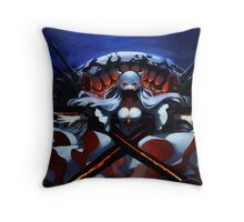 Midway Hime No. 1 Throw Pillow