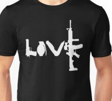 Love weapons - version 2 - White Unisex T-Shirt