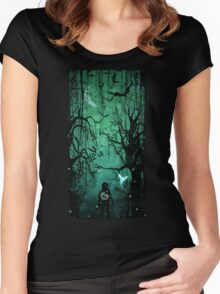 Twilight Forest Women's Fitted Scoop T-Shirt