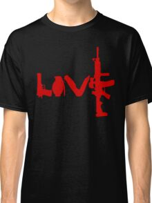 Love weapons - version 3 - red Classic T-Shirt