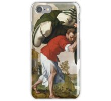 Netherlandish The Healing of the Paralytic, iPhone Case/Skin