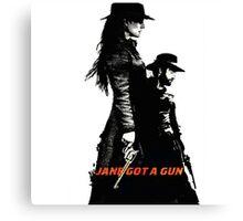 Jane Got A Gun 2016 Canvas Print