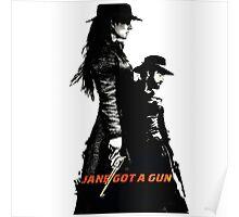 Jane Got A Gun 2016 Poster