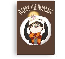 Harry The Human Canvas Print