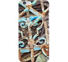rusty metal iPhone Case/Skin