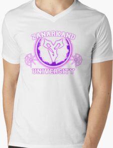 Zanarkand University Mens V-Neck T-Shirt